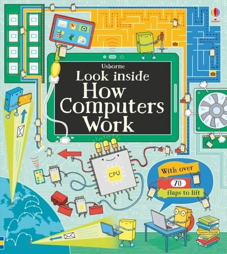 Look Inside How Computers Work - Look Inside (Board book)