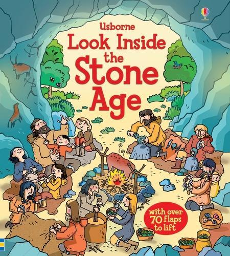 Look Inside the Stone Age - Look Inside (Board book)