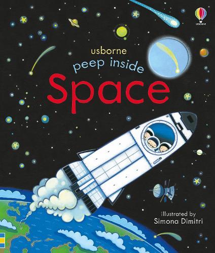 Peep Inside Space - Peep Inside (Board book)