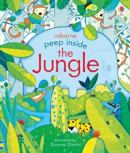 Peep Inside the Jungle - Peep Inside (Board book)