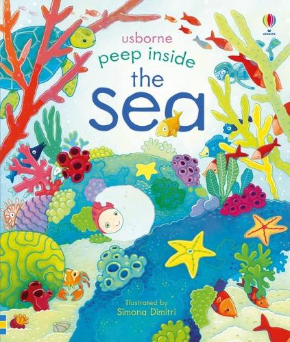 Peep Inside The Sea - Peep Inside (Board book)