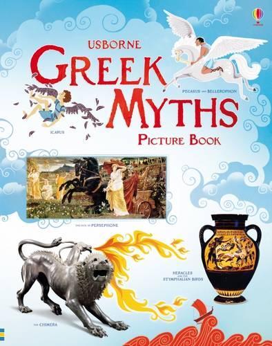 Greek Myths Picture Book (Hardback)
