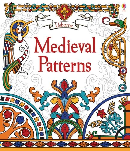 Medieval Patterns - Patterns to Colour (Hardback)