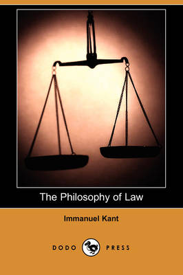 The Philosophy of Law (Dodo Press) (Paperback)
