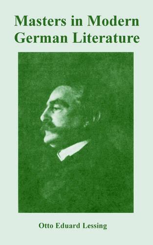 Masters in Modern German Literature (Paperback)