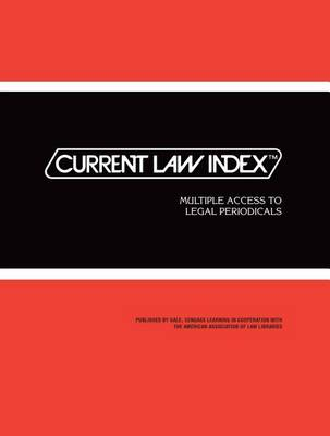 Current Law Index: 2016 Subscription - Current Law Index (Paperback)