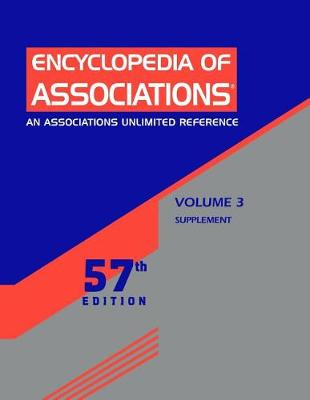 Encyclopedia of Associations: National Organizations of the U.S.: Supplement (Paperback)