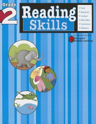 Reading Skills: Grade 2 (Flash Kids Harcourt Family Learning) (Paperback)