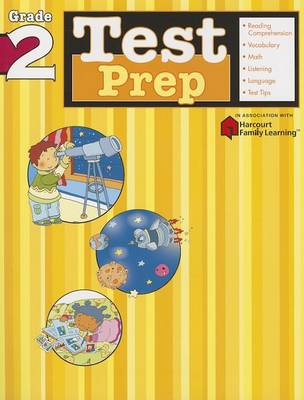 Test Prep: Grade 2 (Flash Kids Harcourt Family Learning) (Paperback)