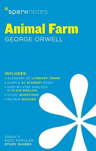 Animal Farm SparkNotes Literature Guide - SparkNotes Literature Guide (Paperback)