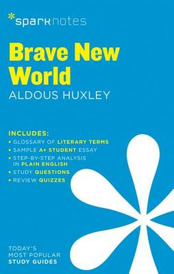 Brave New World SparkNotes Literature Guide (Paperback)