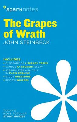 The Grapes of Wrath SparkNotes Literature Guide (Paperback)