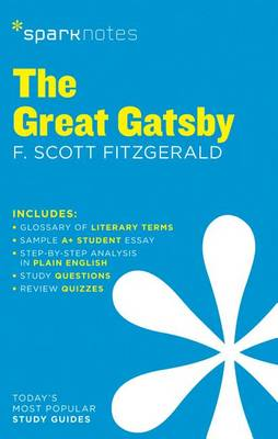 The Great Gatsby SparkNotes Literature Guide - SparkNotes Literature Guide (Paperback)
