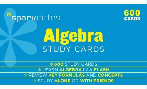 Algebra SparkNotes Study Cards