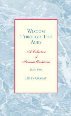 Wisdom through the Ages: Book Two (Paperback)