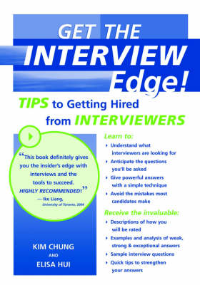 Get the Interview Edge: Tips to Getting Hired from Interviewers (Paperback)