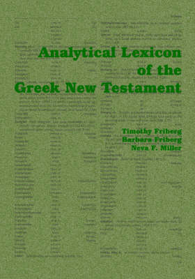 Analytical Lexicon of the Greek New Testament (Paperback)