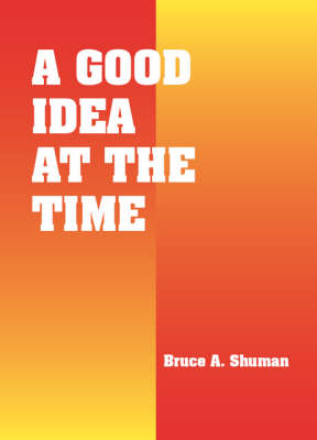 A Good Idea at the Time (Paperback)
