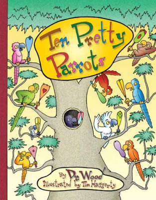 Ten Pretty Parrots (Paperback)