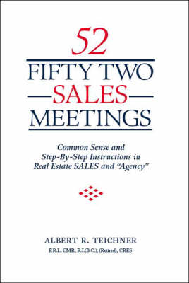 Fifty Two Sales Meetings (Paperback)
