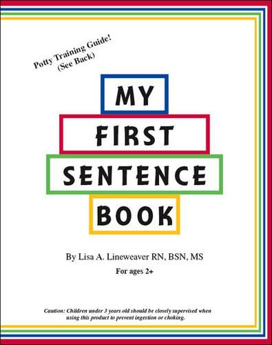 My First Sentence Book (Paperback)
