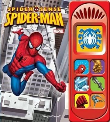 Little Sound Spiderman - Little Sound Book (Hardback)
