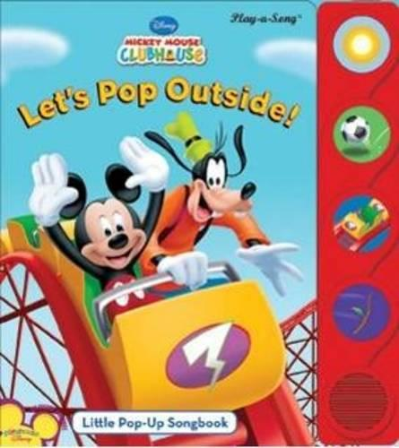 Let's Pop Outside: Little Pop-up Song Book