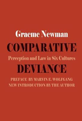 Comparative Deviance: Perception and Law in Six Cultures (Paperback)