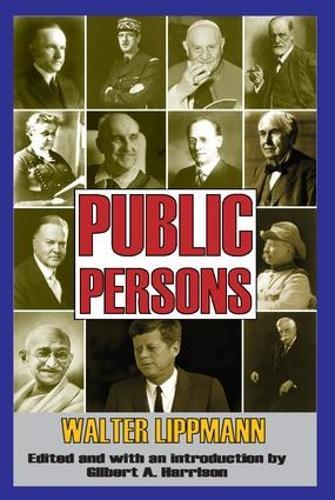 Public Persons (Paperback)