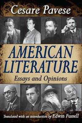 American Literature: Essays and Opinions (Paperback)
