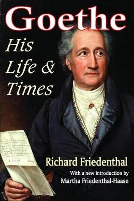 Goethe: His Life and Times (Paperback)