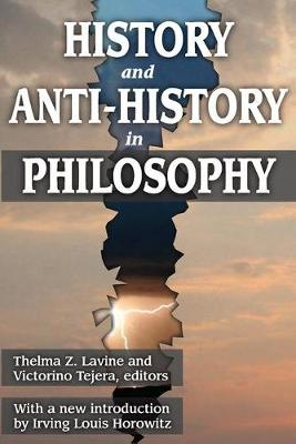 History and Anti-History in Philosophy (Paperback)