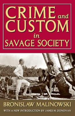 Crime and Custom in Savage Society (Paperback)