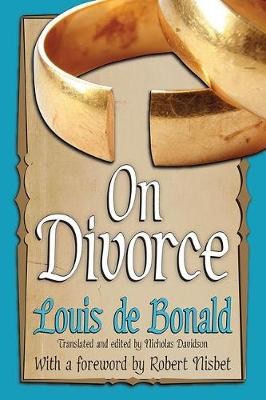 On Divorce - Library of Conservative Thought (Paperback)