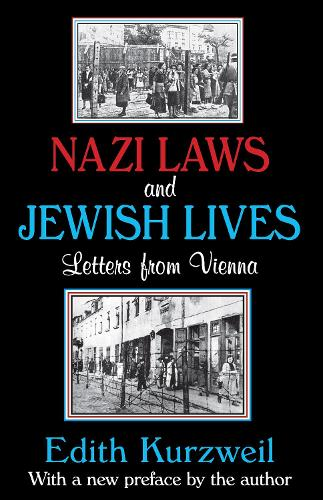 Nazi Laws and Jewish Lives: Letters from Vienna (Paperback)