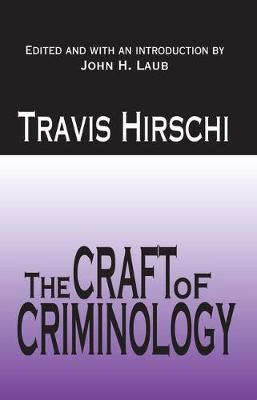 The Craft of Criminology: Selected Papers (Paperback)