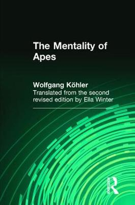 The Mentality of Apes (Paperback)
