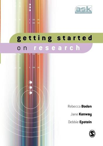 Getting Started on Research - The Academic's Support Kit (Paperback)