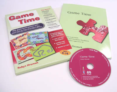Game Time: Games to Promote Social and Emotional Resilience for Children aged 4 - 14 - Lucky Duck Books (Paperback)