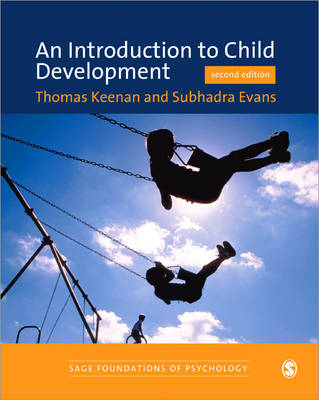 An Introduction to Child Development - Sage Foundations of Psychology Series (Paperback)