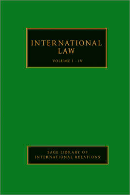International Law - Sage Library of International Relations (Hardback)