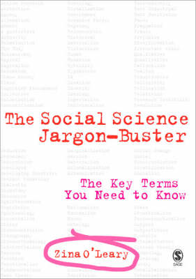 The Social Science Jargon Buster: The Key Terms You Need to Know (Paperback)