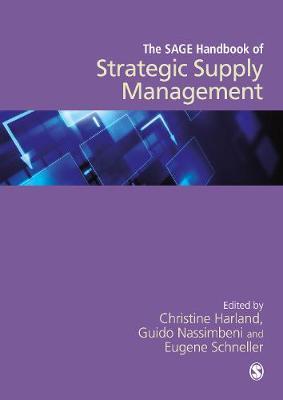 The SAGE Handbook of Strategic Supply Management (Hardback)