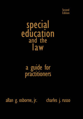 Special Education and the Law: A Guide for Practitioners (Hardback)