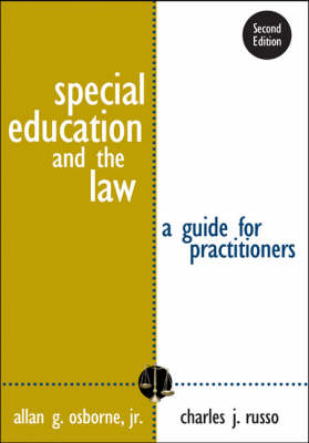 Special Education and the Law: A Guide for Practitioners (Paperback)