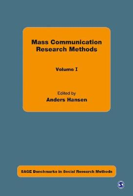 Mass Communication Research Methods - Sage Benchmarks in Social Research Methods (Hardback)