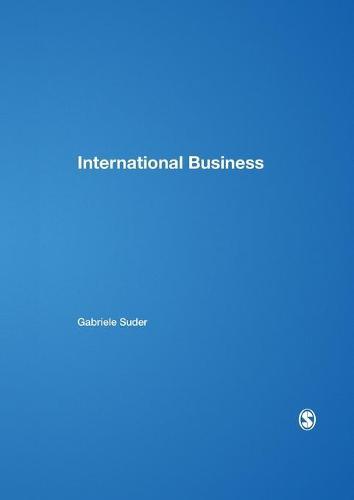 International Business - Sage Course Companions Series (Hardback)