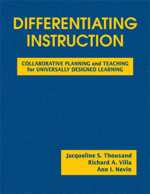 Differentiating Instruction: Collaborative Planning and Teaching for Universally Designed Learning (Hardback)