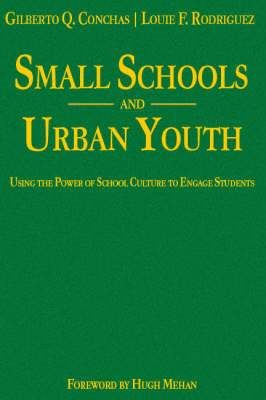 Small Schools and Urban Youth: Using the Power of School Culture to Engage Students (Hardback)