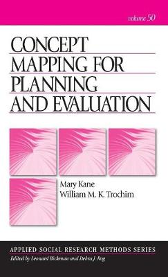Concept Mapping for Planning and Evaluation - Applied Social Research Methods (Hardback)